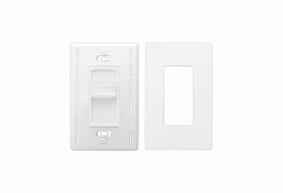 OSD Screwless Slide Volume Control 300W High Power Impedance Matching SLS300 Decra Style Wall Plate Snap On