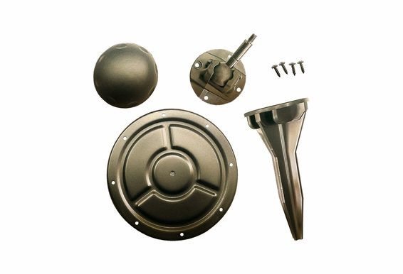 """Outdoor Mounting Accessory Kit for Forza-5, 5.25"""" Weather Resistant Indoor/Outdoor Pendant Speaker"""