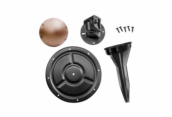 "Outdoor Mounting Accessory Kit for Forza-5, 5.25"" Weather Resistant Indoor/Outdoor Pendant Speaker"