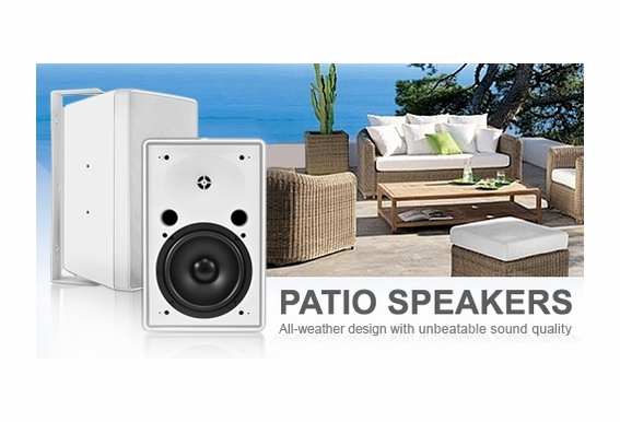 Outdoor Patio Speakers High Power AP640T 70V Transformer Pair