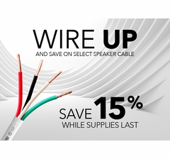 Outdoor UV Rated Speaker Wire