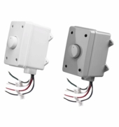 OVC100 Outdoor Volume Control with Self-Impedance Matching 100W Rotary Weather Resistant Housing Easy Jumper Setting