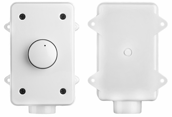 OVC300 Outdoor Volume Control Self-Impedance Matching 300W Rotary Weather Resistant Housing Easy Jumper Setting
