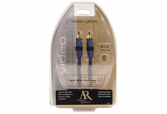 Performance Series Composite Video Cable 6ft