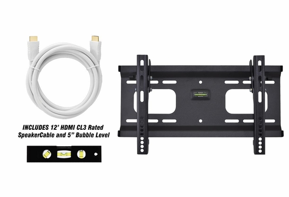 "Plasma/LCD Tilt Mount 23"" - 37"" OSD TM-42 w/ 12FT HDMI Cable"