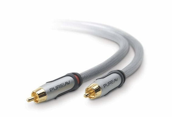 PureAV RCA Audio Cable 100ft
