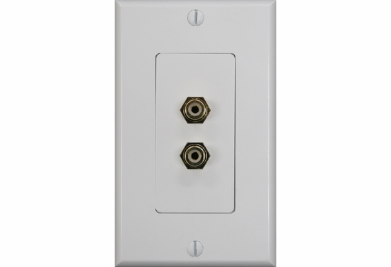 RCA Stereo Decora Style Wall Plate