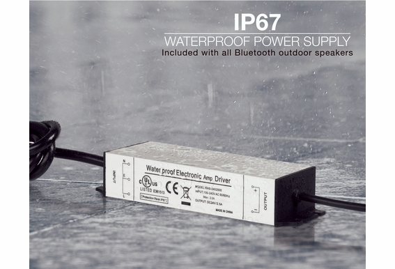 Replacement Power Supply for BTP650, BTR805, BTF525, and BOM 4.1 - IP67