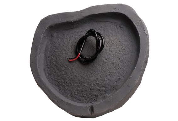 "RS670 Outdoor High Power 6.5"" Rock Speaker Pair (Sandstone Canyon Brown, Slate Dark Grey or Granite Light Grey)"