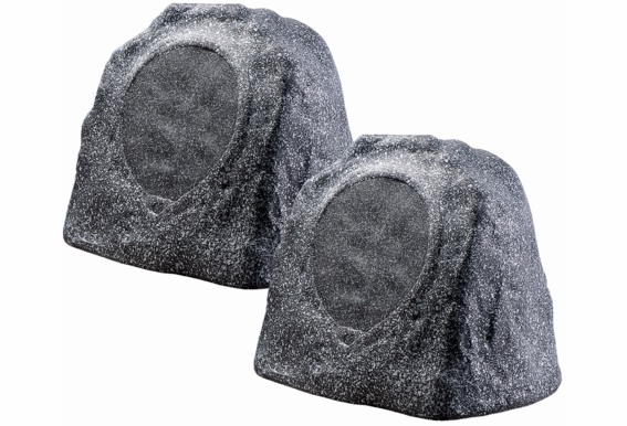 "RX805 200W High Performance 8"" Rock Speaker 2- Way (Pair Brown Grey Color)"