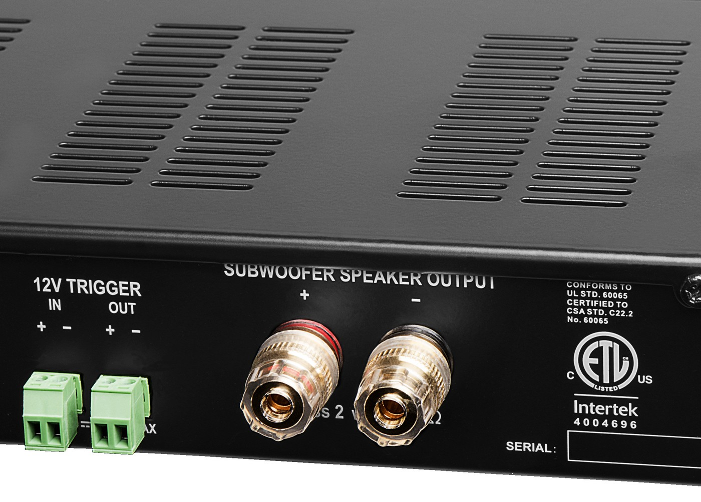 Smp500 Mono Channel Class D Subwoofer Amplifier Digital Onboard Wiring Subwoofers Speakers To Change Ohms Dsp 400w 4 8 Etl And Ce Certified