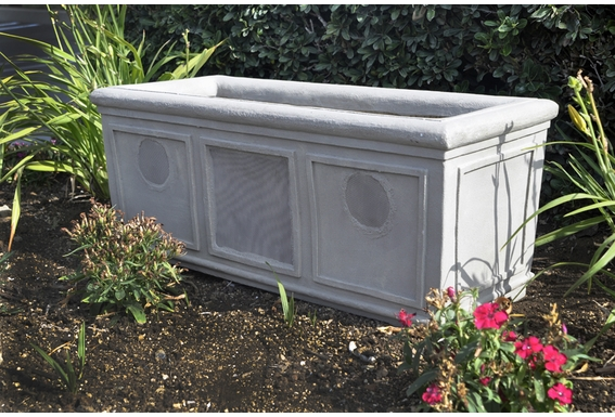 "SP650 6 1/2"" Square Planter Speaker"