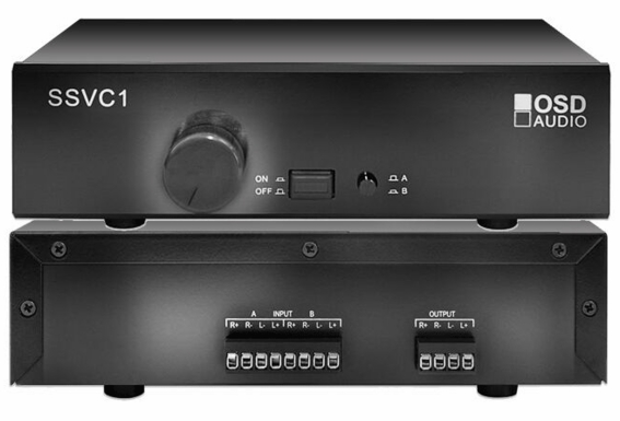 SSVC1 Table Top Dual Source 300W Volume Control