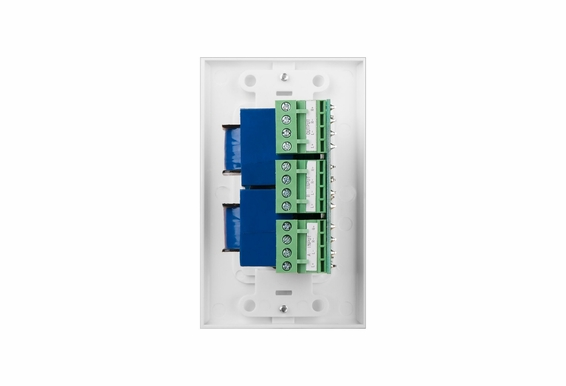 SVC405 300W Decora Style Volume Control Kit with Impedance Matching and A/B Switching - White