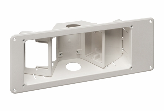 TVB713  Recessed TV Box™ w/ Angled Openings