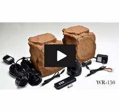 Wireless Outdoor Speaker Rock WR150 OSD Audio