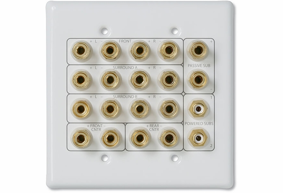 WP20 Home Theater 7.1 Wall Plate