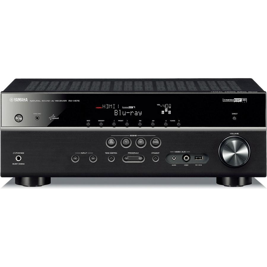 Yamaha RX-V575 7 2-channel home theater receiver with Apple