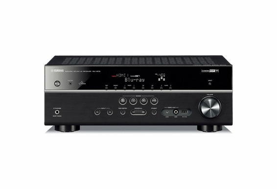 Yamaha RX-V575 7.2-channel home theater receiver with Apple AirPlay®