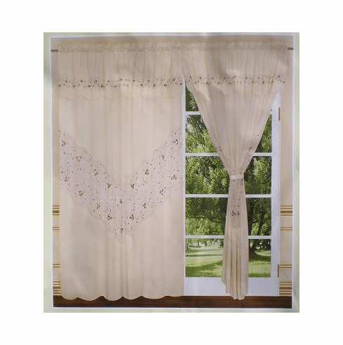 Beautiful Artex windows curtains