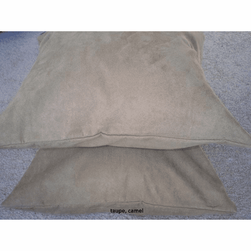 Double Layer Bonded Micro Suede Table Runner Taupe ( or Peat )