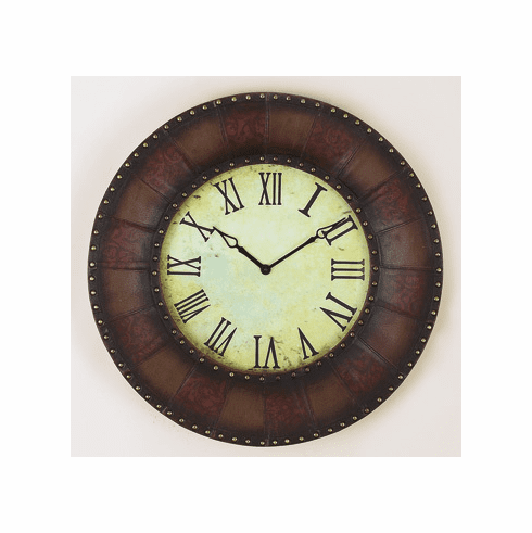 Metal Wall Clock 24 inches in diameter
