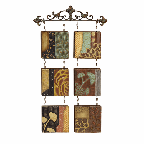 Metal Wall Decor 47 inches high 27 inches wide