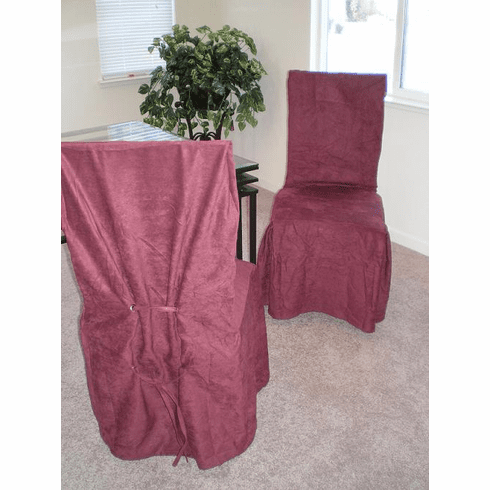 Micro Suede Dining Chair Cover - Please Pick the color