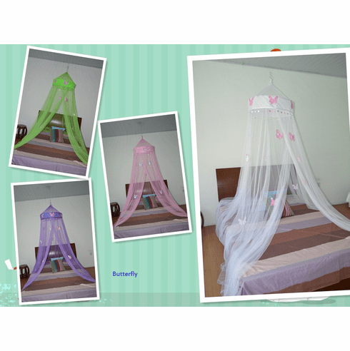 Octorose ® Butterfly Bed Canopy Mosquito Net for All Size Bed, Out Party Events