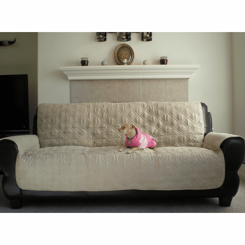 OctoRose Quilted Bonded or Classic Micro Suede Pets Sofa Slipcovers Throw Pad Furniture Protector