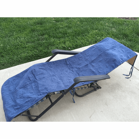 Excellent Octorose Quilted Micro Suede Patio Chaise Lounge Chair Uwap Interior Chair Design Uwaporg