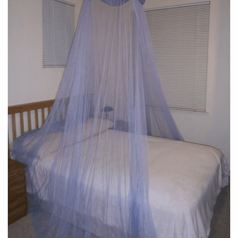 Purple Bed Canopy Mosquito net for Crib, twin, full, Queen or King Size bed and outdoor Easy set and Carry