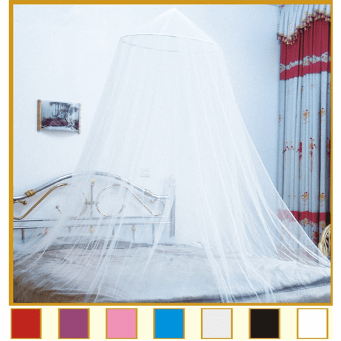 White Bed Canopy Mosquito net for Crib, twin, full, Queen , King or Cal King Size bed and outdoor Easy set and Carry
