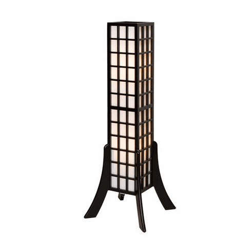 Wood Kobe Lamp 47 inches High and 16 inches Wide