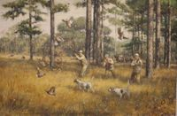 ABBETT:  QUAIL HUNTING</a><br><b>- SOLD</b>