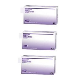 (SOLD OUT) 3 Box Case Kimberly-Clark Safeskin 9inch  Purple Nitrile Exam Gloves