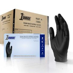 3 Box Sample Case of Latex, Nitrile, Vinyl and Food Handling Gloves