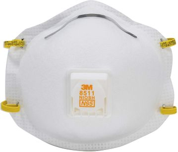 (SOLD-OUT) 3M N95 Particulate Respirator with Cool Flow (10 Pack)