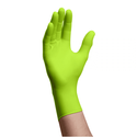 (In-Stock) 6X Green Nitrile Exam Gloves, 6 Mil Strength