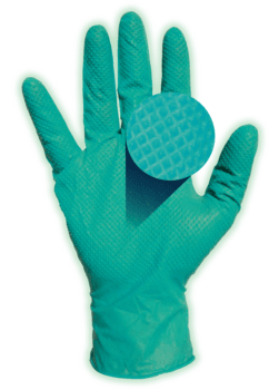 (SOLD-OUT) 6 Mil Green Guard Nitrile Exam Gloves