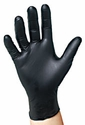 (In-Stock) 4 Mil Black Nitrile Powder Free Gloves