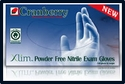 (SOLD-OUT) 5 Mil Cranberry Xlim Powder Free Nitrile Exam Gloves