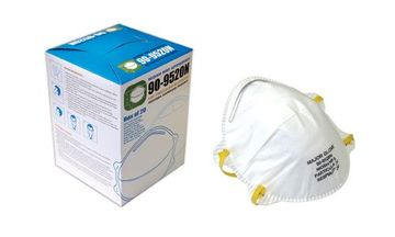 N95 PARTICULATE RESPIRATOR FACE MASK (NO VALVE)