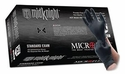 (SOLD-OUT) Nitrile Gloves: Black / MicroFlex MidKnight Gloves