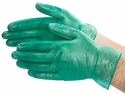 (Sold Out) Green Vinyl Gloves