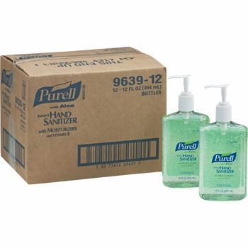 Purell Instant Hand Sanitizer with Aloe Pump Bottle 12oz (Sold Out)