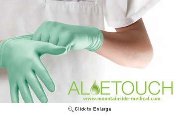 (SOLD-OUT) Aloe-Touch Nitrile Exam Gloves