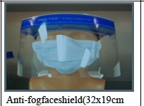 (SOLD OUT) Anti-Fog Face Shield