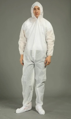 (SOLD-OUT) COVERALL W / ATTACHED HOOD and BOOTS