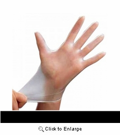 (SOLD-OUT) Cranberry Soft-Touch Powder-Free Vinyl Exam Gloves
